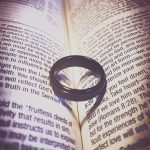Wedding Band on Bible