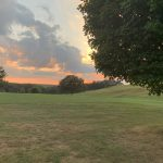 Sunset on Golf Course